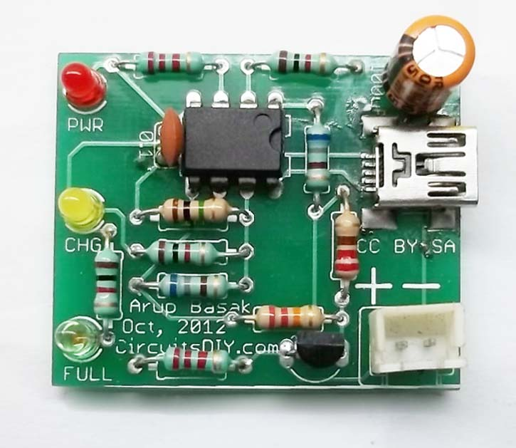 Li-Ion Battery Charger Circuits